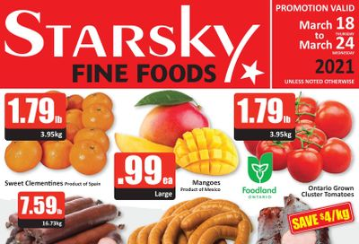 Starsky Foods Flyer March 18 to 24