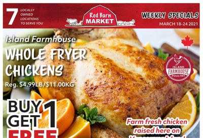 Red Barn Market Flyer March 18 to 24