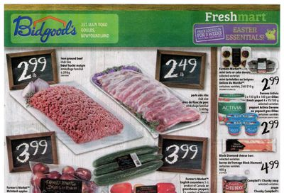 Bidgood's Flyer March 18 to 24