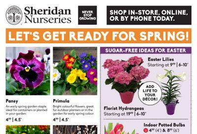 Sheridan Nurseries Flyer March 18 to April 7