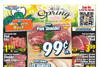 Western Beef Weekly Ad Flyer March 18 to March 24