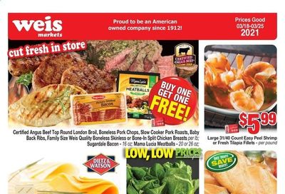 Weis Weekly Ad Flyer March 18 to March 25