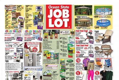 Ocean State Job Lot Weekly Ad Flyer March 18 to March 24