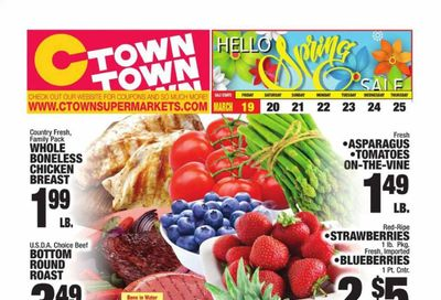 C-Town Weekly Ad Flyer March 19 to March 25