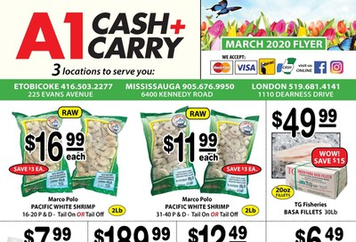 A-1 Cash and Carry Flyer March 1 to 31