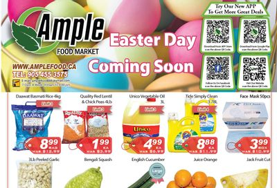 Ample Food Market Flyer March 19 to 25