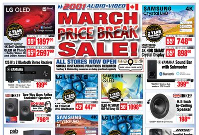 2001 Audio Video Flyer March 19 to 25