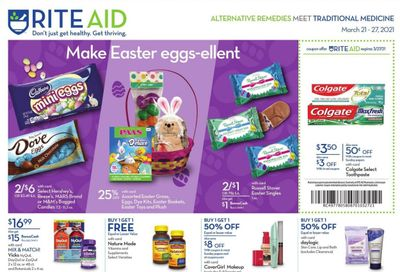 RITE AID Weekly Ad Flyer March 21 to March 27