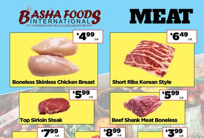 Basha Foods International Flyer March 19 to April 1