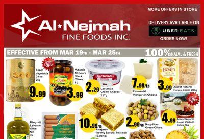 Alnejmah Fine Foods Inc. Flyer March 19 to 25