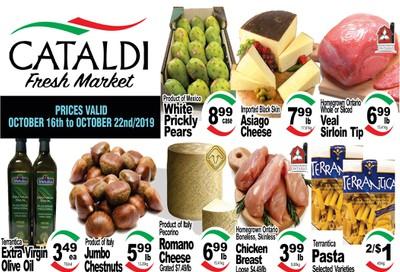Cataldi Fresh Market Flyer October 16 to 22