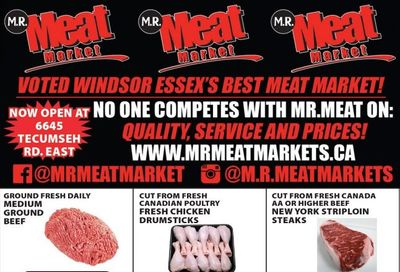 M.R. Meat Market Flyer March 20 to 27