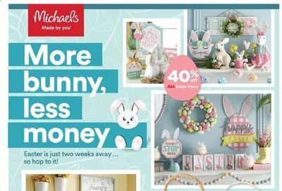 Michaels Weekly Ad Flyer March 21 to March 27