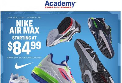 Academy Sports Weekly Ad Flyer March 22 to April 4