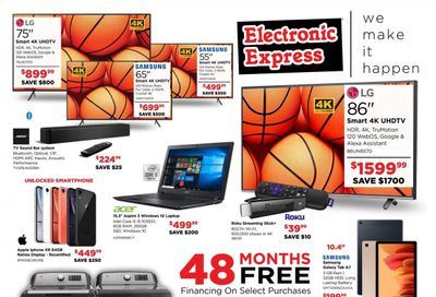 Electronic Express Weekly Ad Flyer March 21 to March 27