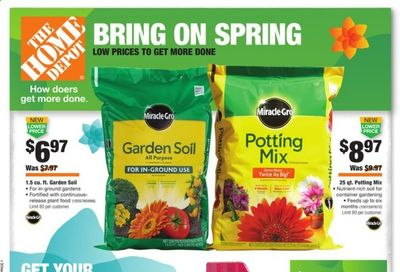 The Home Depot Weekly Ad Flyer March 18 to March 28