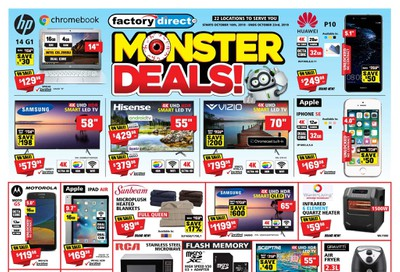Factory Direct Flyer October 16 to 23