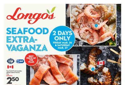 Longo's 2-Days Only Flyer March 26 and 27