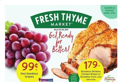 Fresh Thyme Weekly Ad Flyer March 24 to March 30