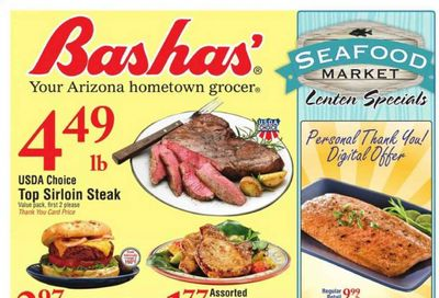 Bashas' Weekly Ad Flyer March 24 to March 30