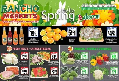 Rancho Markets Weekly Ad Flyer March 23 to March 29