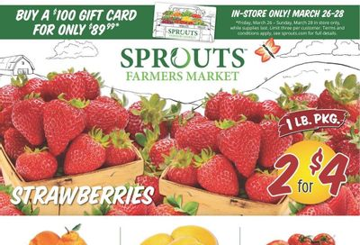 Sprouts Weekly Ad Flyer March 24 to March 30