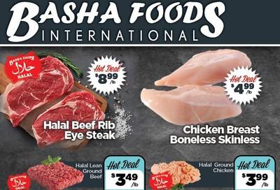 Basha Foods International Flyer March 3 to 9