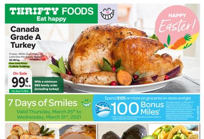 Thrifty Foods Flyer March 25 to 31