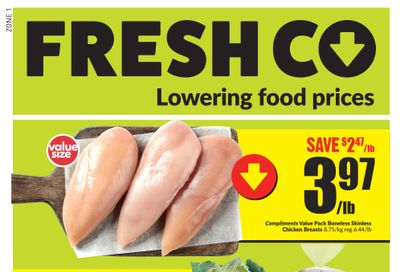 FreshCo (West) Flyer March 25 to 31