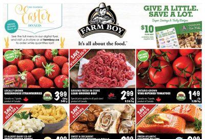 Farm Boy Flyer March 25 to 31