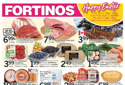Fortinos Flyer March 25 to 31
