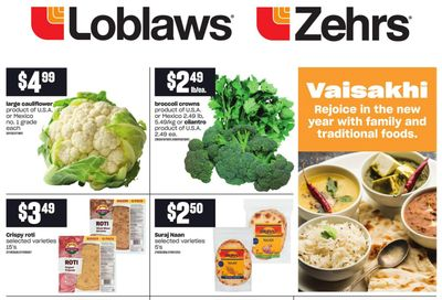 Loblaws (ON) Vaisakhi Flyer March 25 to April 14