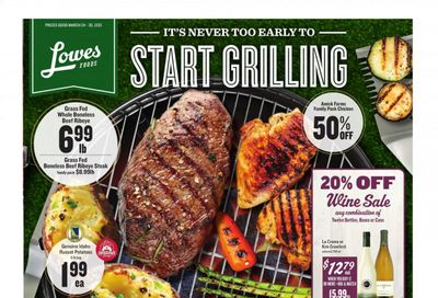 Lowes Foods Weekly Ad Flyer March 24 to March 30