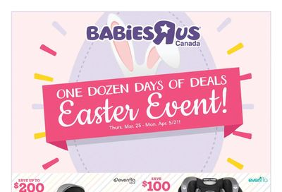 Babies R Us Flyer March 25 to April 5
