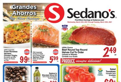 Sedano's (FL) Weekly Ad Flyer March 24 to March 30