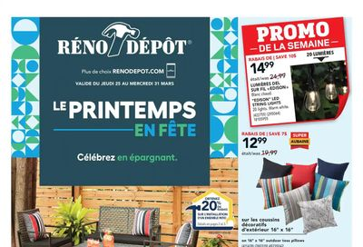 Reno Depot Flyer March 25 to 31