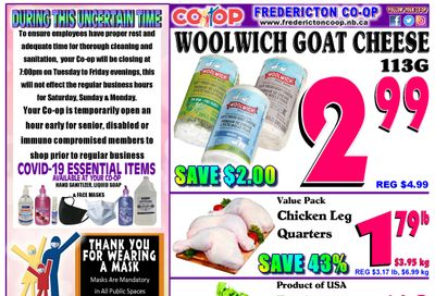 Fredericton Co-op Flyer March 25 to 31