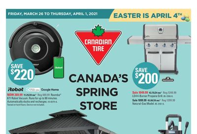 Canadian Tire (West) Flyer March 26 to April 1