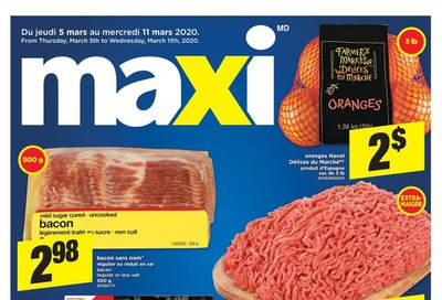 Maxi Flyer March 5 to 11