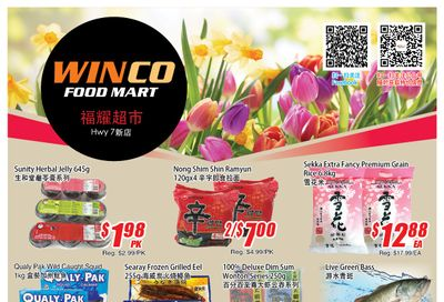 WinCo Food Mart (HWY 7) Flyer March 25 to 31