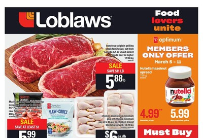 Loblaws (ON) Flyer March 5 to 11
