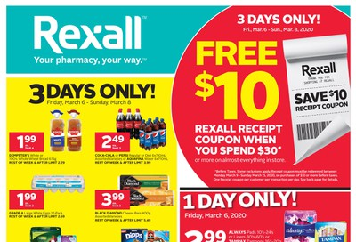 Rexall (ON) Flyer March 6 to 12