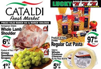 Cataldi Fresh Market Flyer March 4 to 10