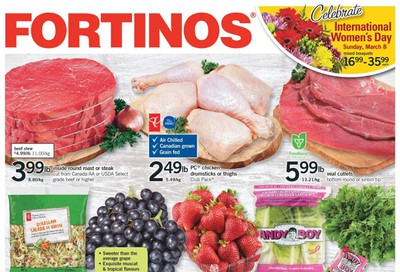 Fortinos Flyer March 5 to 11