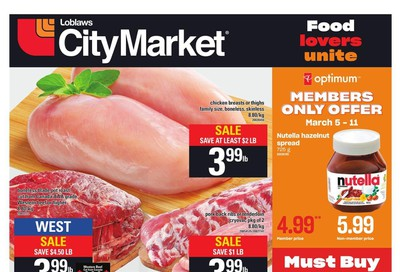 Loblaws City Market (West) Flyer March 5 to 11