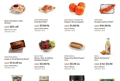 Whole Foods Market (West) Flyer March 4 to 10