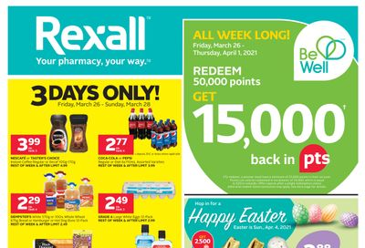 Rexall (West) Flyer March 26 to April 1