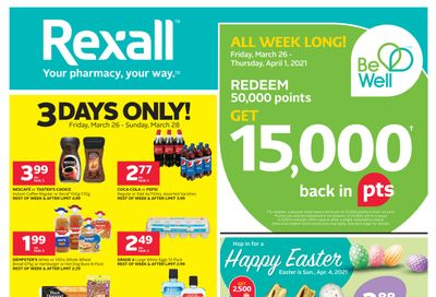 Rexall (ON) Flyer March 26 to April 1