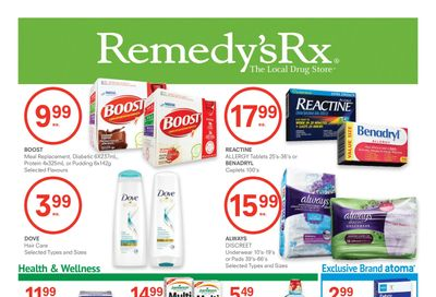 Remedy's RX Flyer March 26 to April 29