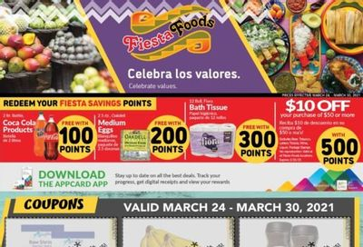 Fiesta Foods SuperMarkets Weekly Ad Flyer March 24 to March 30